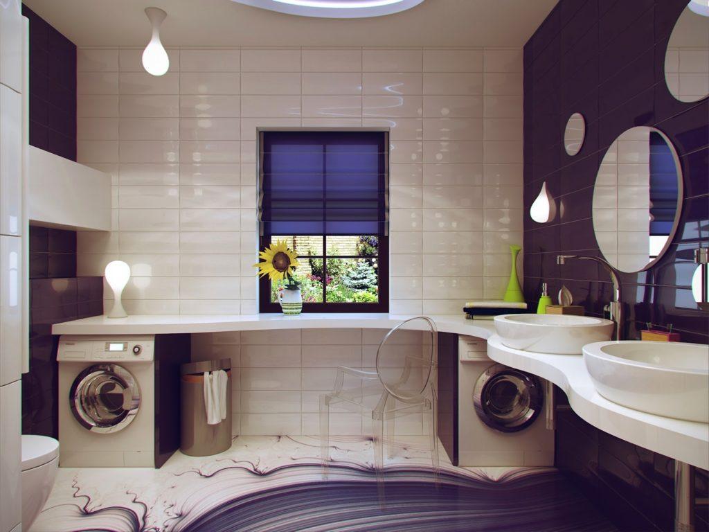 Дизайн ванной комнаты в 2017 году