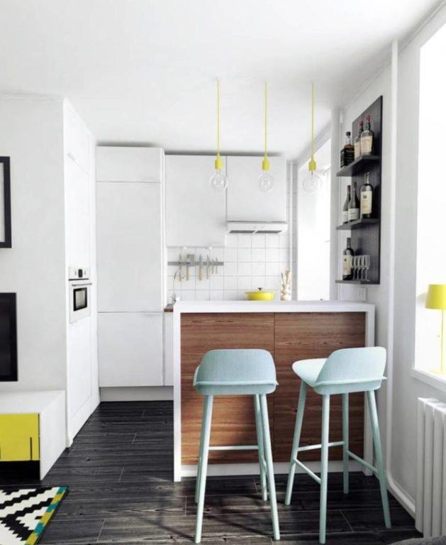 Очень маленькая современная квартира-студия