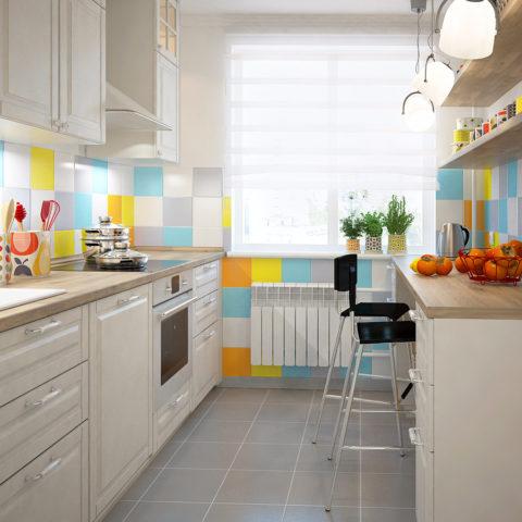 Кухня 10 кв м со столом