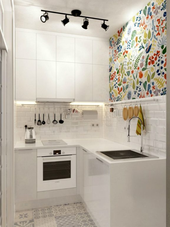 Маленькая кухня 4 кв м дизайн