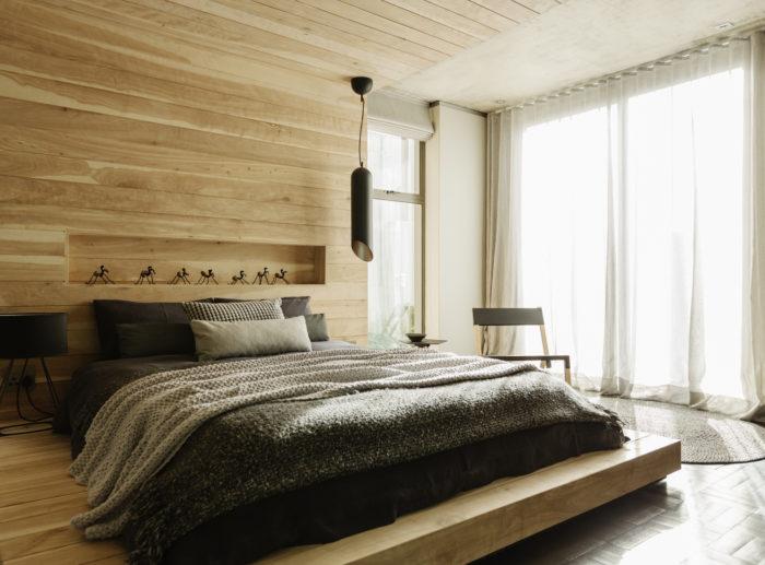 Расширение спальни за счёт балкона