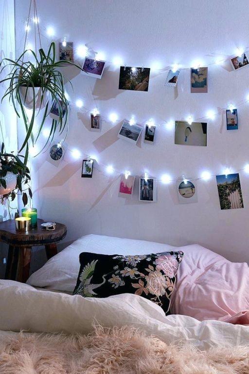 Гирлянды с фотографиями в детской комнате
