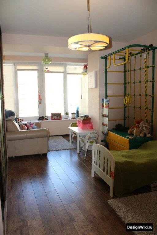 Детская объединенная с балконом