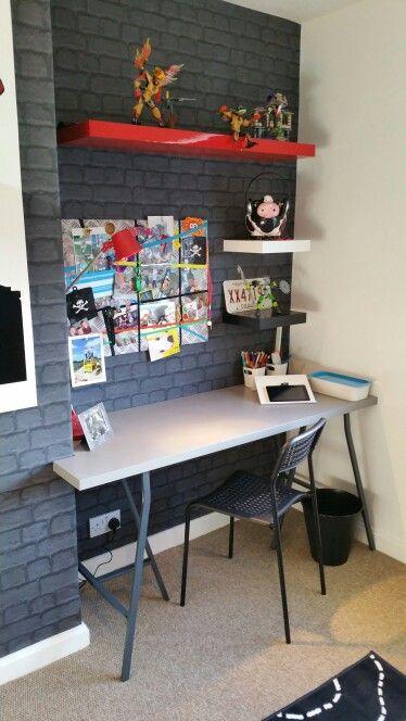 Дизайн детской комнаты в стиле лофт #дизайн #дизайндетской