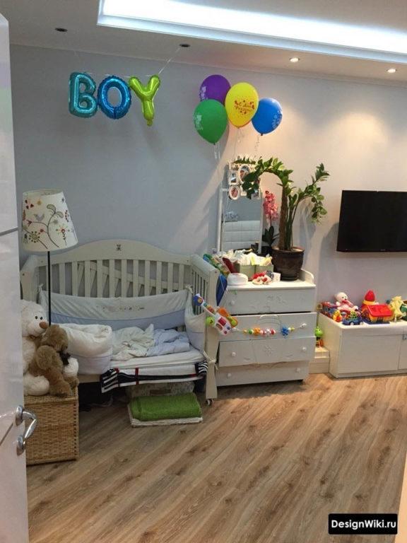 Дизайн детской комнаты для новорожденного ребенка