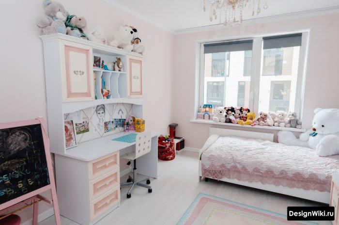 Дизайн детской комнаты для школьников