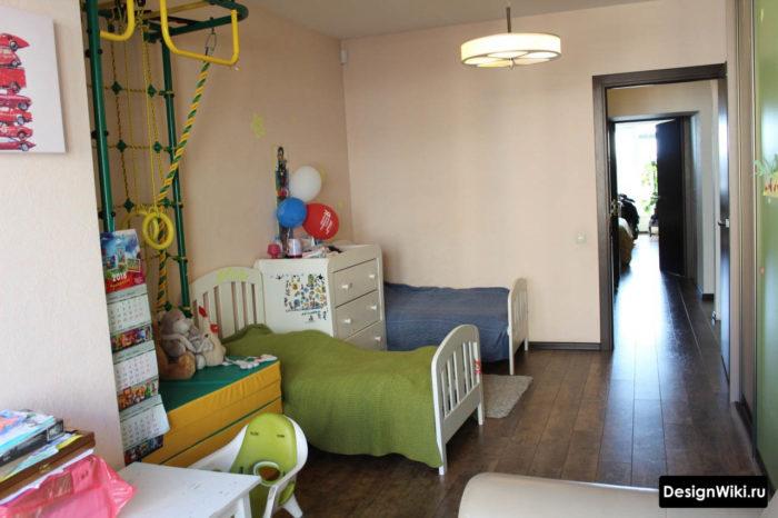 Зонирование и расстановка мебели в детской