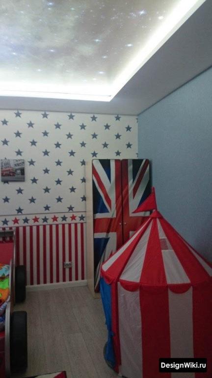 Интерьер детской комнаты в английском стиле