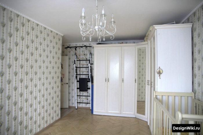 Классический дизайн детской комнаты