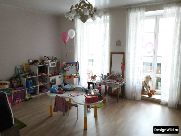 Мебель в детской для дошкольника