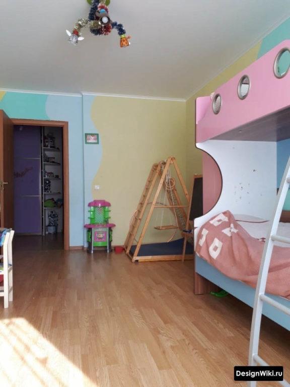 Необычная мебель в детской