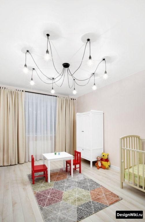 Декор и оформление детской комнаты для мальчика