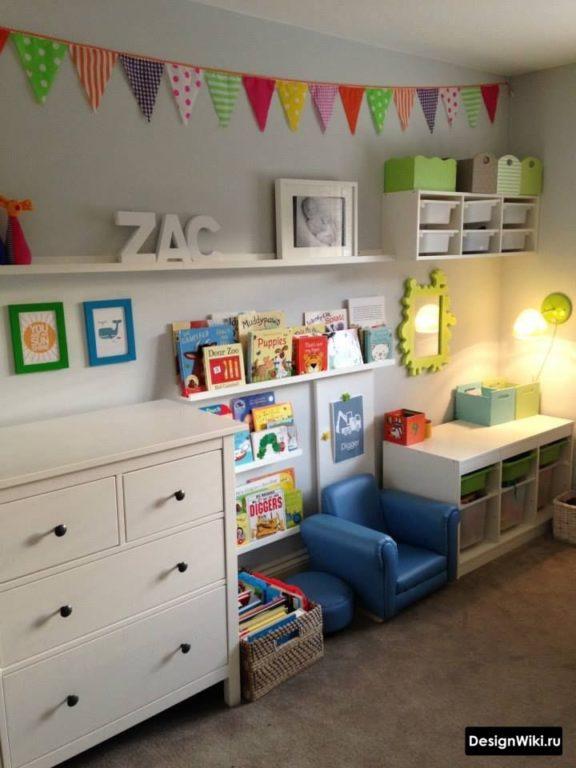 Детская мебель в комнате мальчика