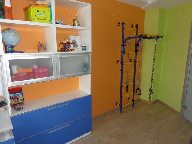 Дизайн детской комнаты с турником