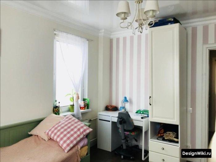 Мебель в детской комнате школьника