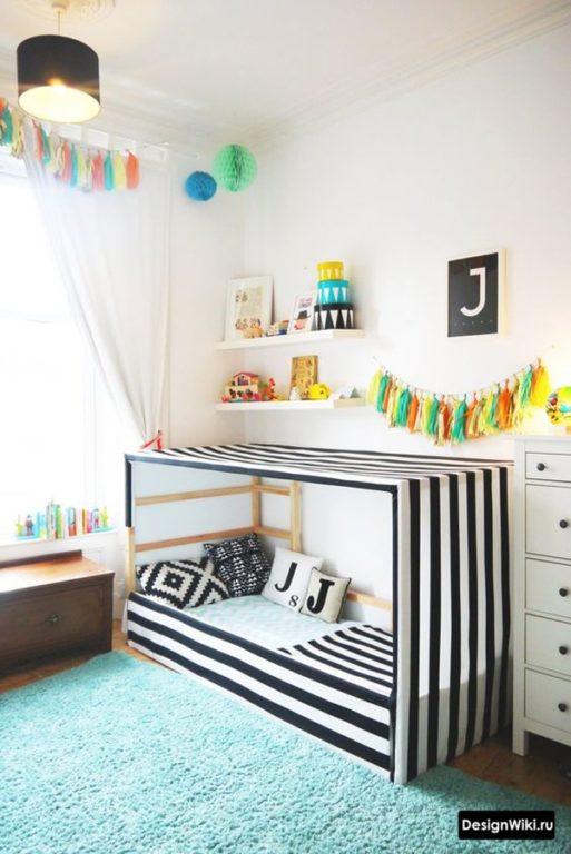 Напольная кровать матрас для мальчика
