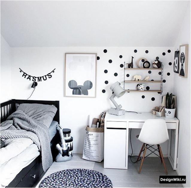 Расстановка мебели в детской комнате для мальчика