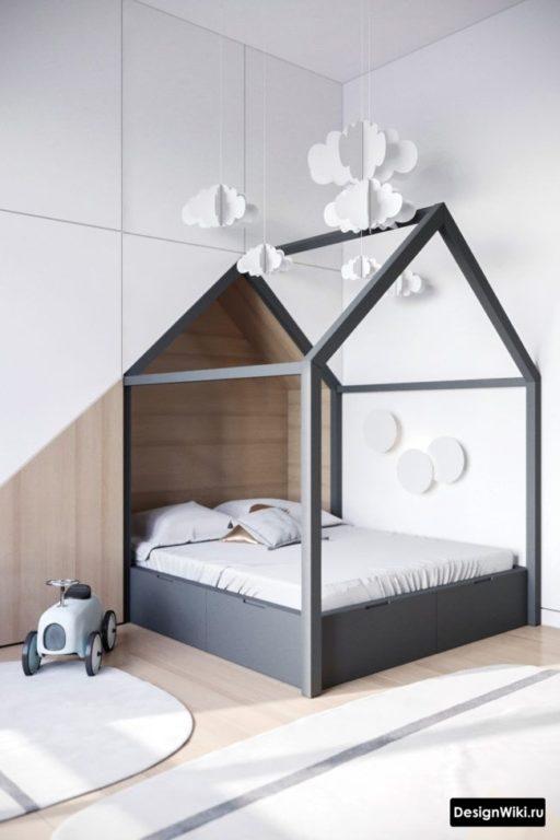 Современный интерьер детской комнаты для мальчика