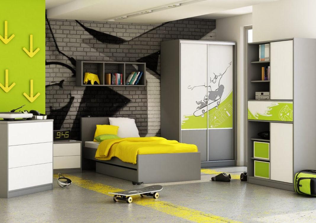 дизайн детской комнаты для мальчика старшеклассника