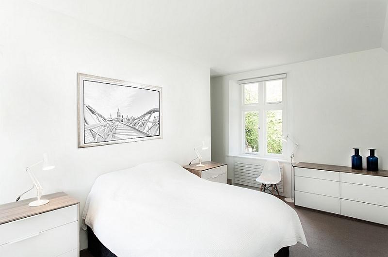 белые стены в минимализме