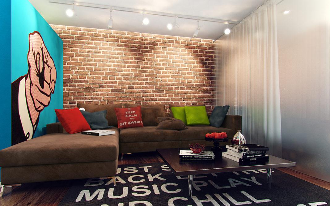 поп арт в квартире
