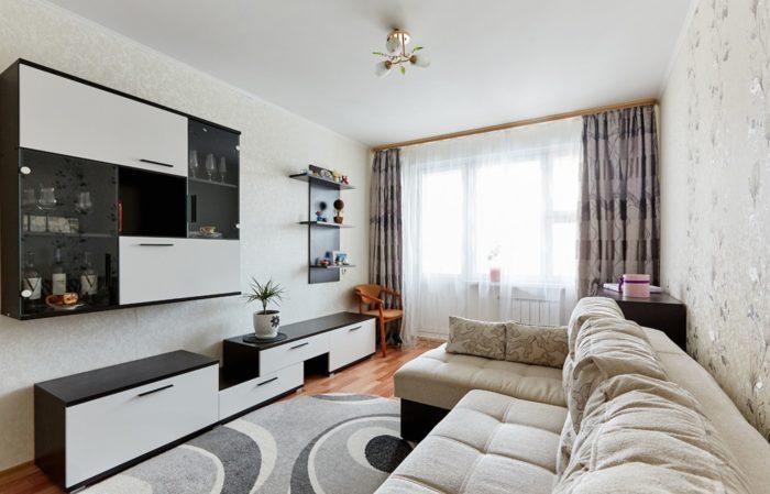 Бюджетный дизайн однокомнатной квартиры