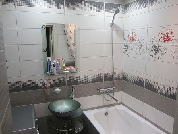 Дизайн ванной в однокомнатной квартире