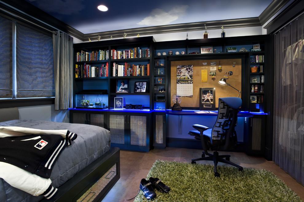 Дизайн комнаты для парня подростка