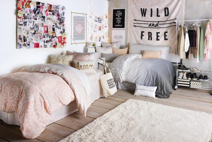 Дизайн комнат для девушек подростков