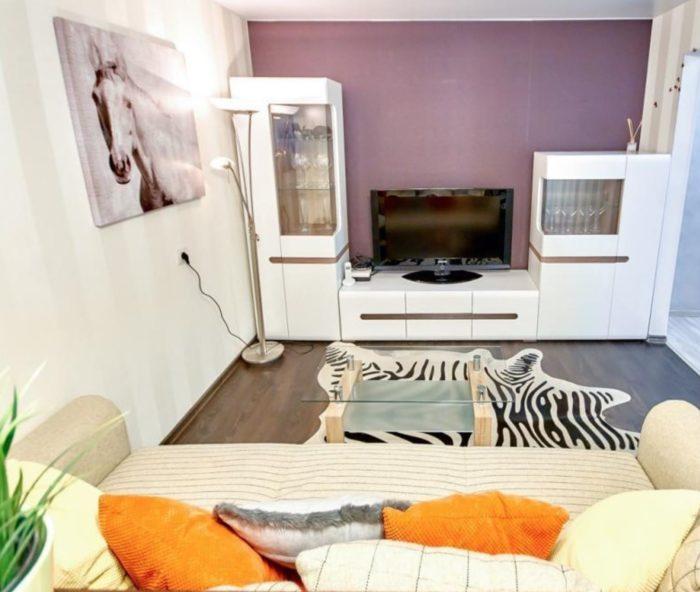 Дизайн маленькой комнаты в однокомнатной квартире