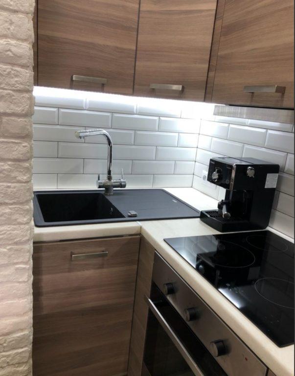 Дизайн однокомнатной квартиры с маленькой кухней