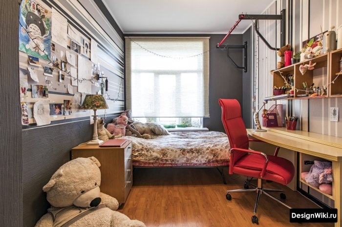 Дизайн персонализированной комнаты подростка