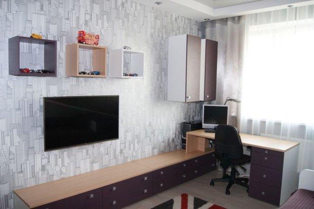Дизайн рабочего места в детской комнате