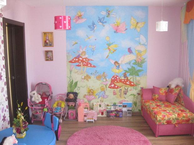 Дизайн розовой детской для девочки 6 лет