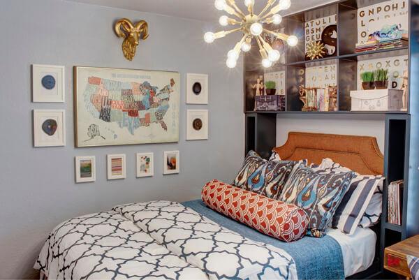 Идея дизайна комнаты для подростка