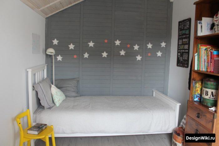 Интерьер комнаты подростка в скандинавском стиле