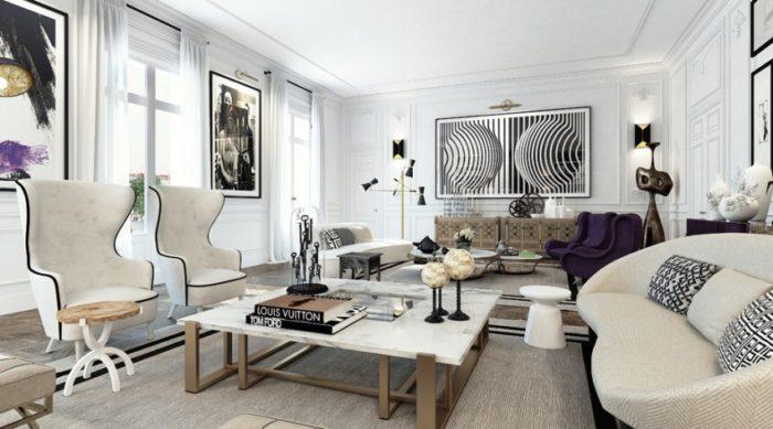 Ковёр и мебель в стиле арт-деко
