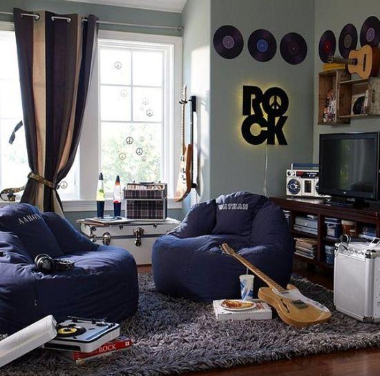 Комната для подростка гитариста