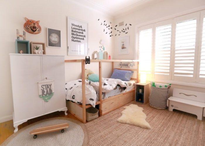 Комната подростка в скандинавском стиле