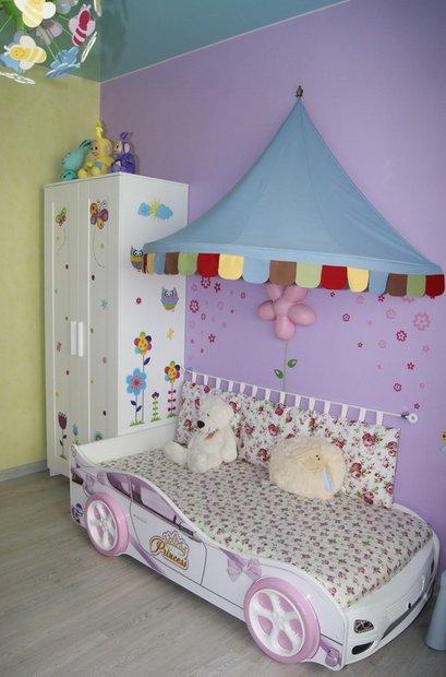 Лиловая детская для девочки до 6 лет