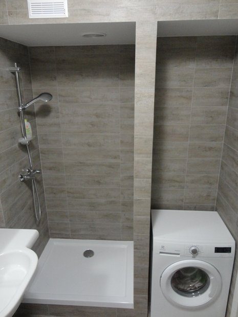 Однокомнатная квартира без ванны