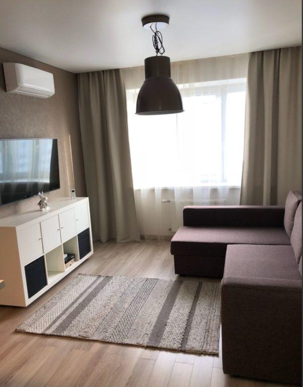 Однокомнатная квартира переделанная в двухкомнатную