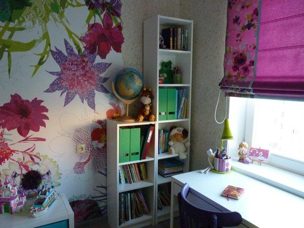 Рабочий стол для девочки школьницы
