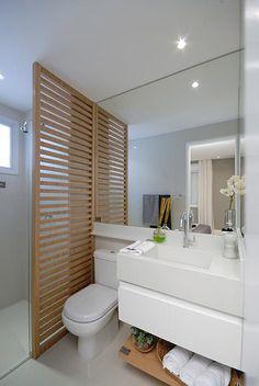 Совмещённая ванная в скандинавском стиле