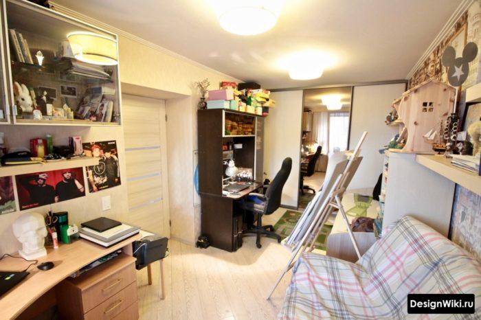 Фото реальной обжитой комнаты подростка
