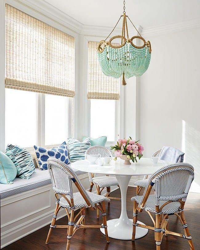 мебель акцентного цвета в скандинавском стиле