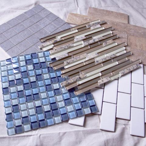 Виды мозаики для фартука
