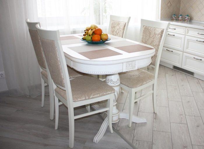 Выбрать плитку или ламинат на пол кухни