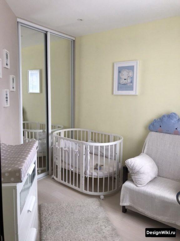 Детская зона в квартире студии