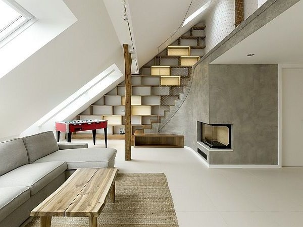 Дизайн дома лёгком конструктивизме